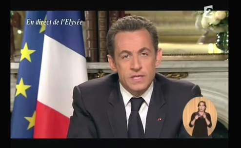 Nicolas Sarkozy 2012 Discours de Candidature Imaginaire