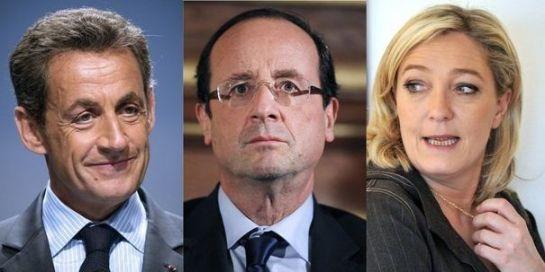 Le Président Sortant et la famille Le Pen face à François Hollande