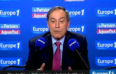 Claude Guéant ( capture d'image )