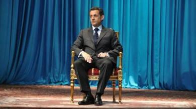 "Nicolas Sarkozy dans ""Looking for..."". Capture d'écran Arte"