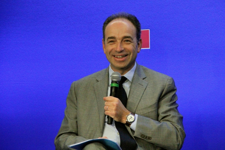 Jean-François Copé, Point Presse, 14 Mars 2012 - cc UMP Photo