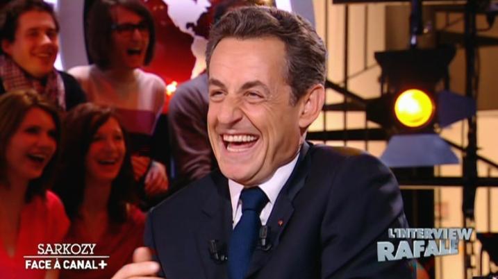 Nicolas Sarkozy ce vendredi sur Canal+ - capture Salam93