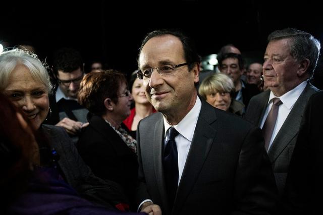 François Hollande en campagne, le 22 mars 2012 - cc FH2012