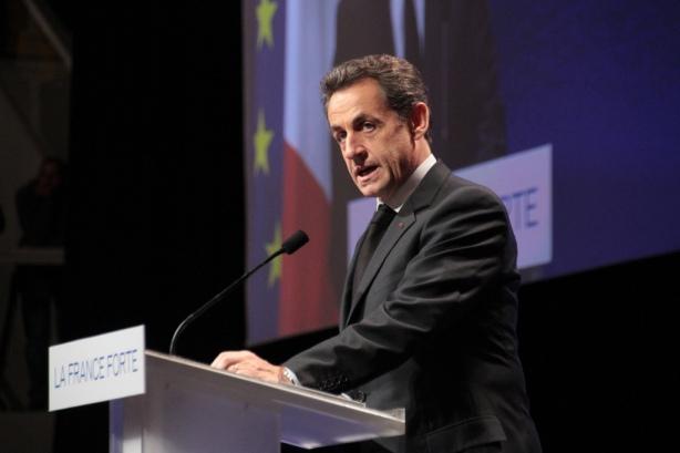 Nicolas Sarkozy à Strasbourg à nouveau candidat - cc UMP Photo