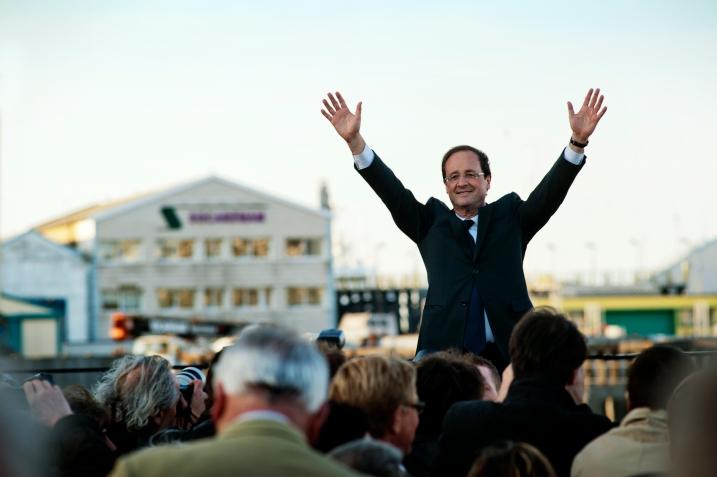 François Hollande à Boulogne-sur-mer - cc Benjamin Géminel