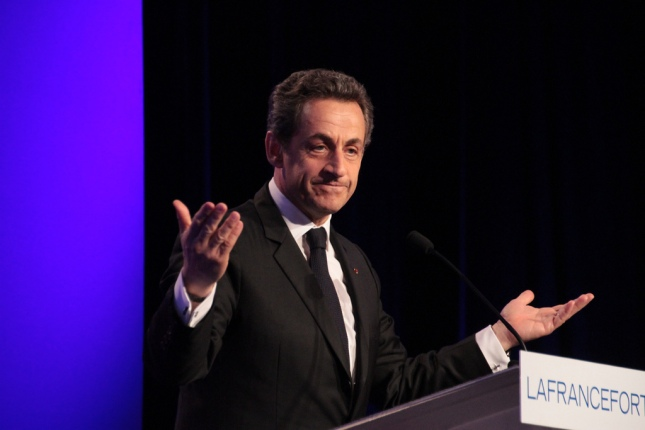 Nicolas Sarkozy à Nimes le 29 mars 2012 - cc UMP Photos