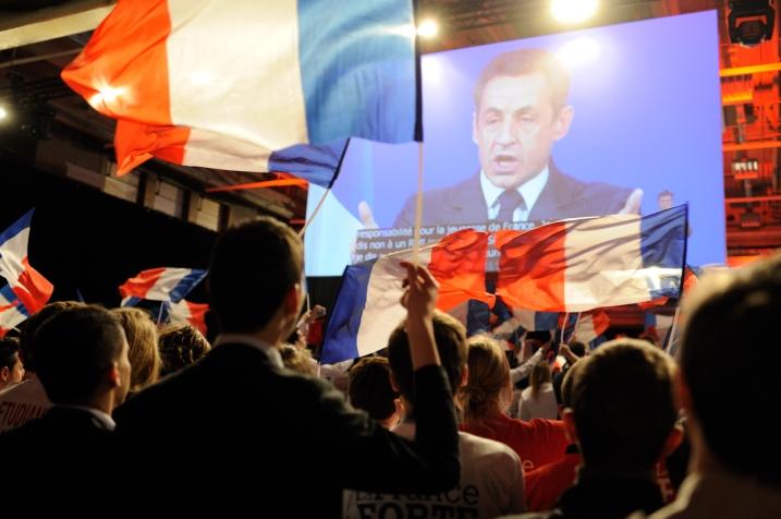 Nicolas Sarkozy prononce son discours à la Jeunesse - © Razak