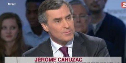 Jérôme Cahuzac à Mots Croisés
