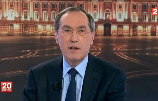 Claude Guéant au JT de France2 - capture
