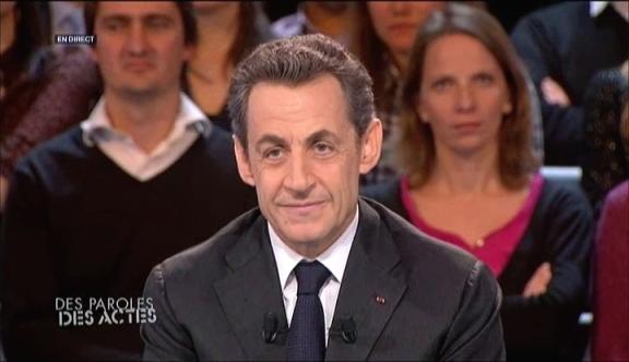 Nicolas Sarkozy, le 6 mars 2012 sur France 2, DPDA