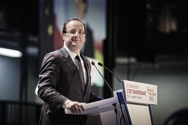 François Hollande avec l'Outremer, le 10 mars 2012 - cc Benjamin Géminel