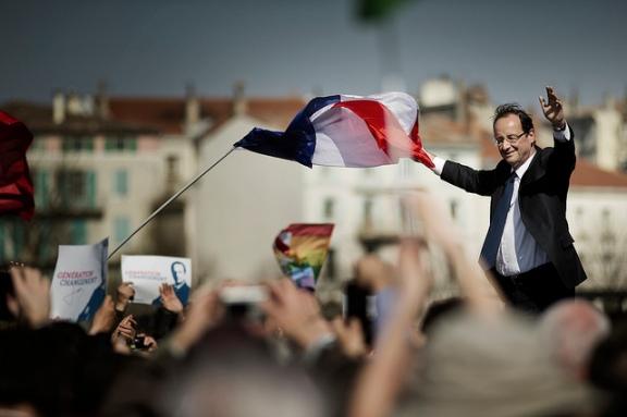 François Hollande à Valence, le 13 mars 2012 - cc Benjamin Géminel