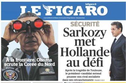 Le mariage du Figaro et de Sarkozy
