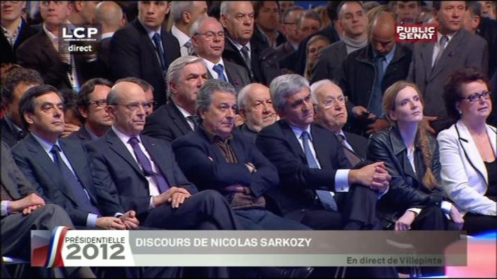 François Fillon, Alain Juppé, Christian Clavier, Hervé Morin, NKM, Christine Boutin