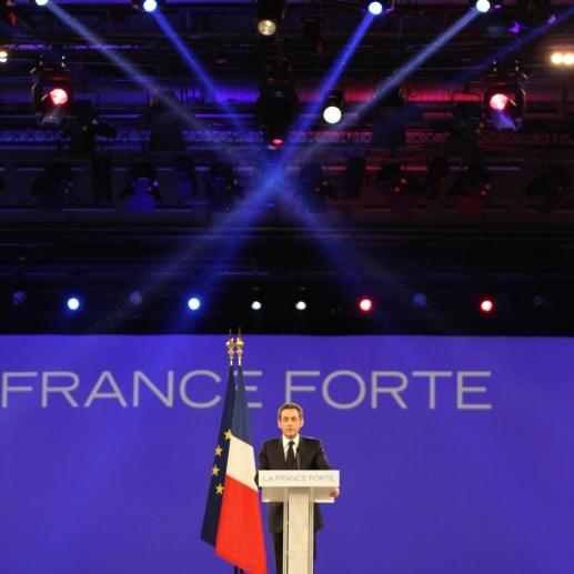 Nicolas Sarkozy à Villepinte - cc UMP Photo
