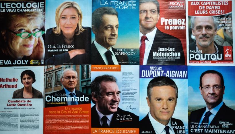 Les 10 Candidats du 22 avril 2012 - cc Loic4467