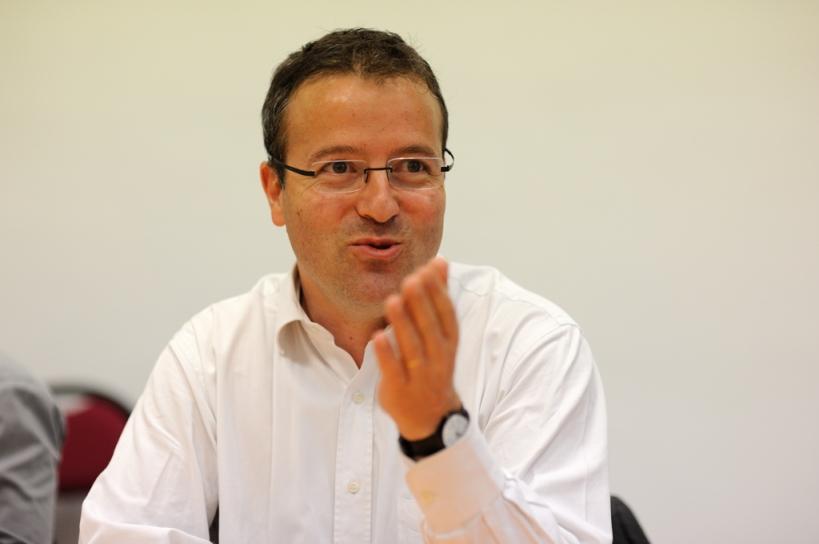 Martin Hirsch en 2009, rue de Ségur, au haut-commissariat à la Jeunesse - © Razak