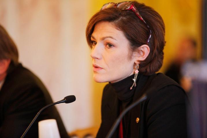 Chantal Jouanno en 2011 à la 21è journée Lire la Politique - cc Fondapol