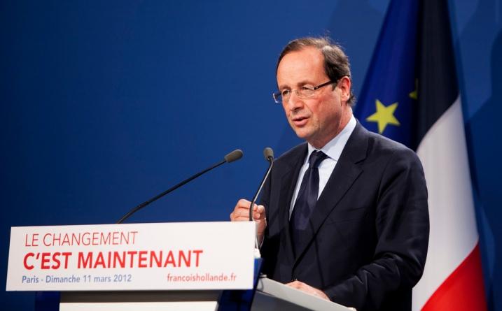 François Hollande, le 11 mars 2012 expose sa vision de la défense - photo FH2012