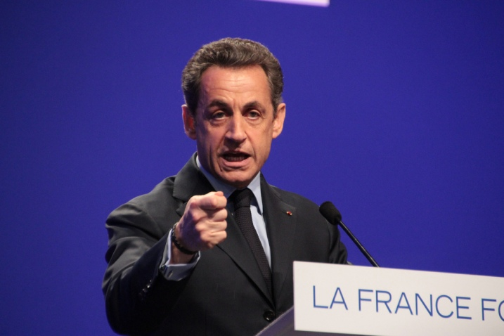 Nicolas Sarkozy en meeting à Nancy - cc UMP Photos