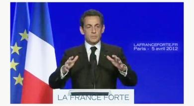 Sarkozy présente son projet pour la France -  capture