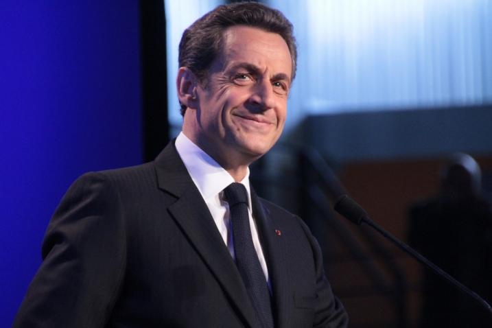 Nicolas Sarkozy en meeting à St-Raphael - cc UMP Photos
