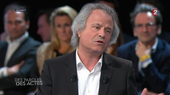 Franz-Olivier Giesbert dit FOG lors de DPDA - capture Ze Rédac