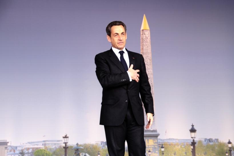 Nicolas Sarkozy, place de la Concorde - cc UMP Photos