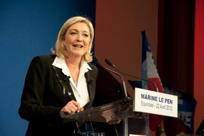 Marine Le Pen, 3ème femme - cc RemiJDN