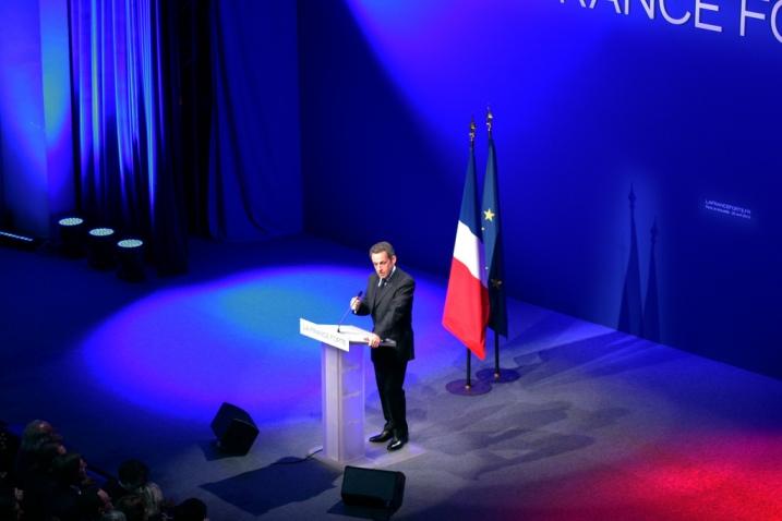 Nicolas Sarkozy le 22 avril 2012 - cc UMP Photos