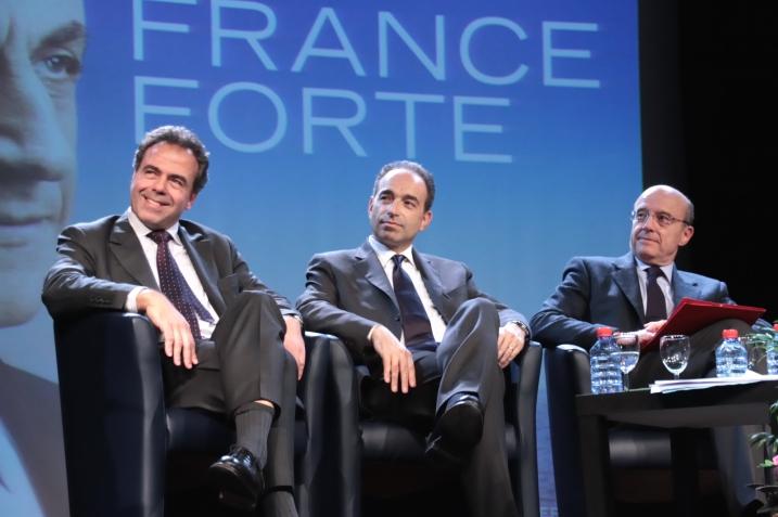 L. Chatel, JF. Copé et A. Juppé le 23 avril à Chaumont sans F. Fillon - cc UMP Photos