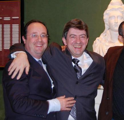 Hollande et Mélenchon ne s'apprécient guère mais font de la politique