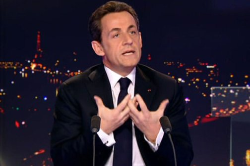 Nicolas Sarkozy invité de TF1 - capture Europe1