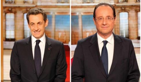Sarkozy vs Hollande - candidat du rassemblement contre candidat de l'affrontement