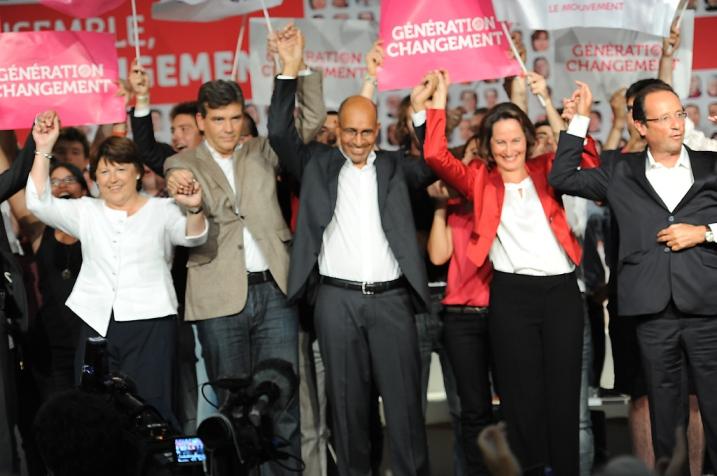 L'union sacrée des socialistes, déjà à La Rochelle, Août 2011 - © Razak