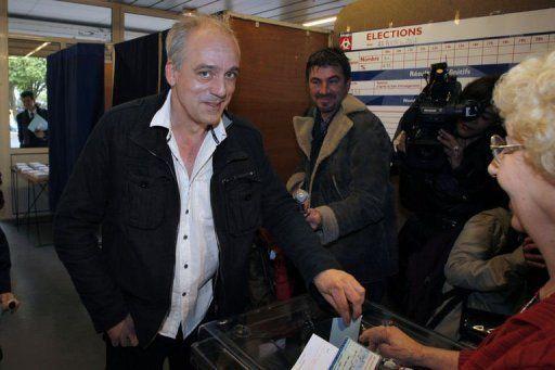 Philippe Poutou a voté ce-22-avril 2012 à Bordeaux - ©  Nicolas Tucas / LaMontagne