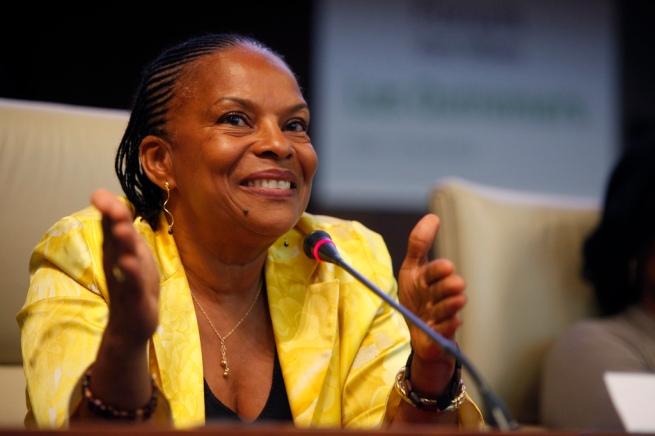 Christiane Taubira en 2011 au Forum des idées Outremers - cc PS