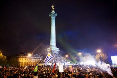 Bastille le 6 Mai 2012 – photo cc Aude Guerrucci / FH2012