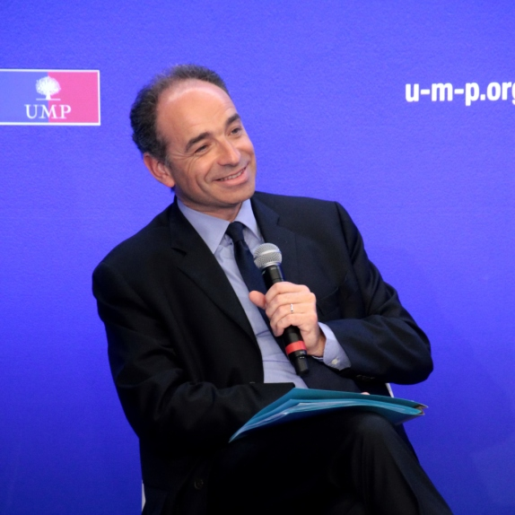 JF Copé en point presse de l'UMP le 10 Mai - cc UMP Photos