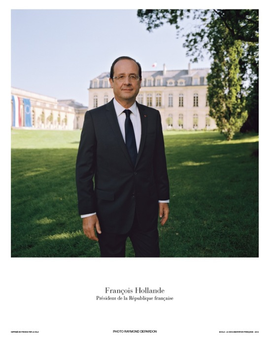 Le Président François Hollande, la photographie officielle -  © La Documentation française. Photo Raymond Depardon
