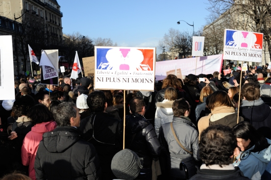 Manif pour le Mariage Pour Tous - Photo © Razak